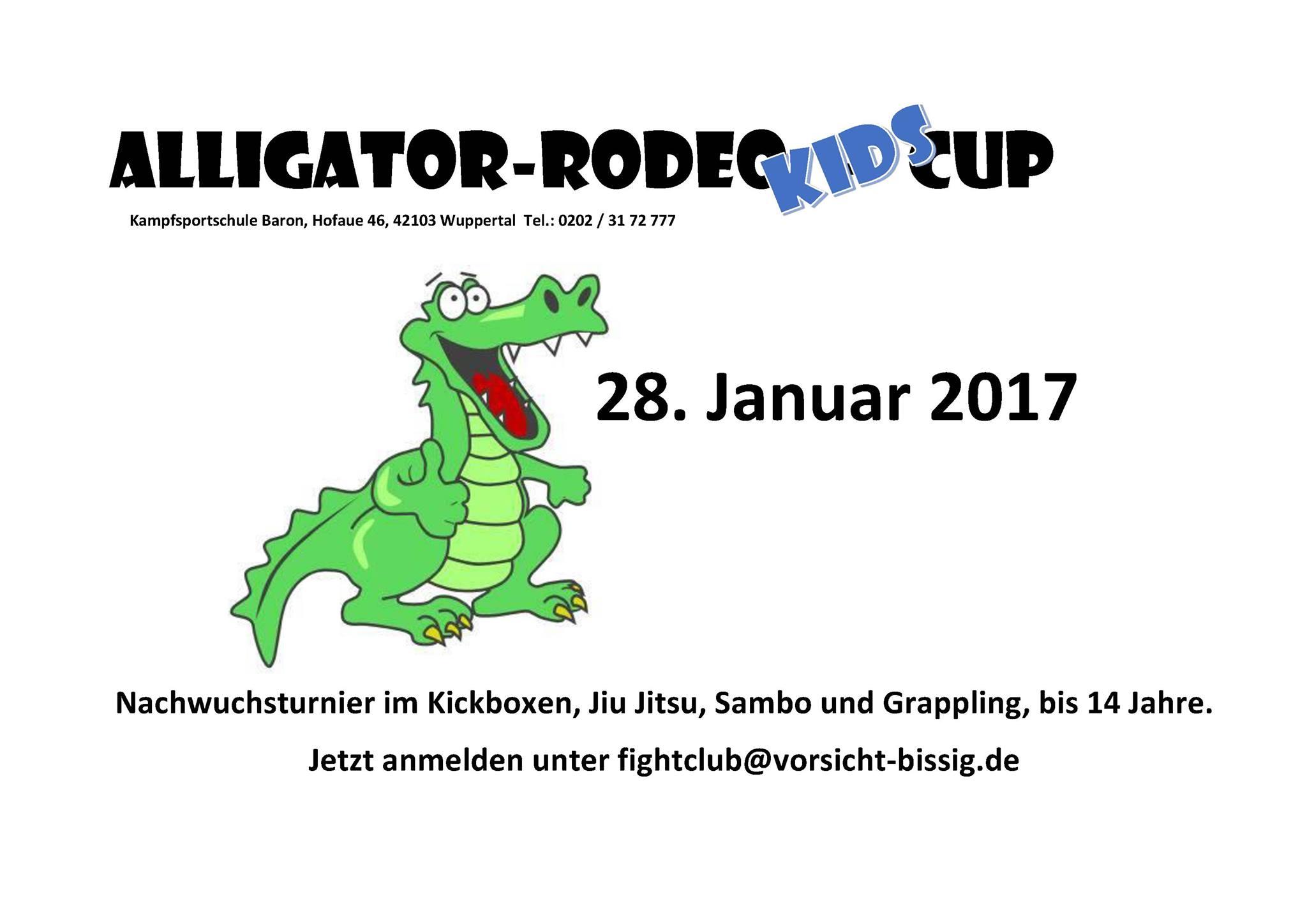 Alligator Rodeo KIDS – Cup