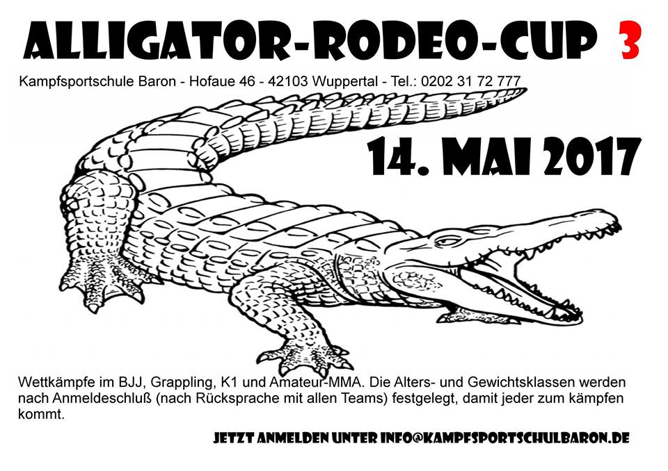 Alligator Rodeo Cup 3