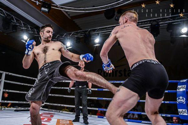 Innenlowkick MMA Nepomuk